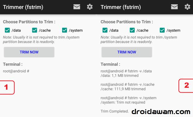 Cara Ampuh Mengatasi Lag / Lemot di Android dengan FStrim [ROOT]