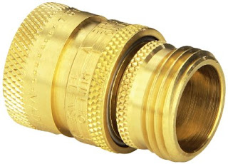 Dramm 22729 Heavy-Duty Quick Disconnect Brass