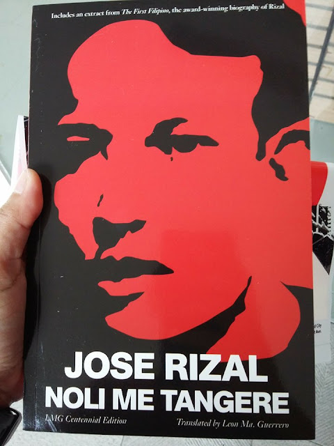 Jose Rizal's Noli Me Tangere book