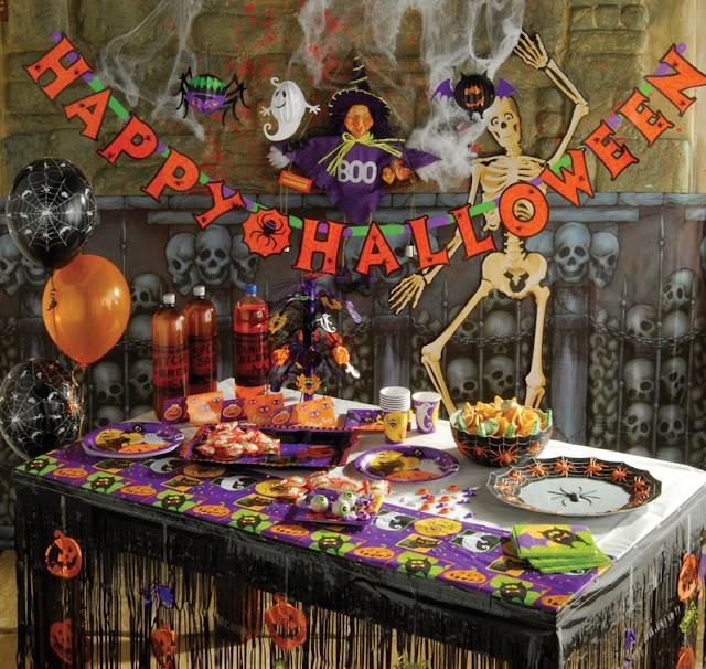 pada dekorasi ini sangat unik dan menarik Decoration for Halloween Party