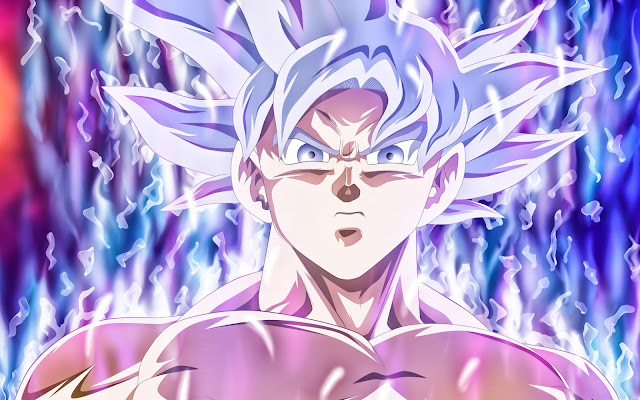 Papel de parede Goku Mastered Ultra Instinct para PC, Notebook, iPhone, Android e Tablet.