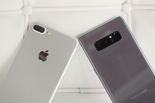 iPhone 8 Plus ve Galaxy Note 8 Hız Testi