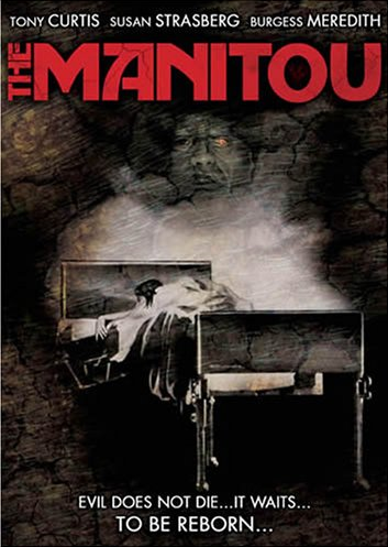 The Manitou dvd cover