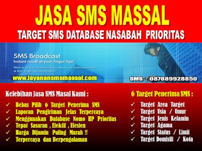 Jasa SMS Massal