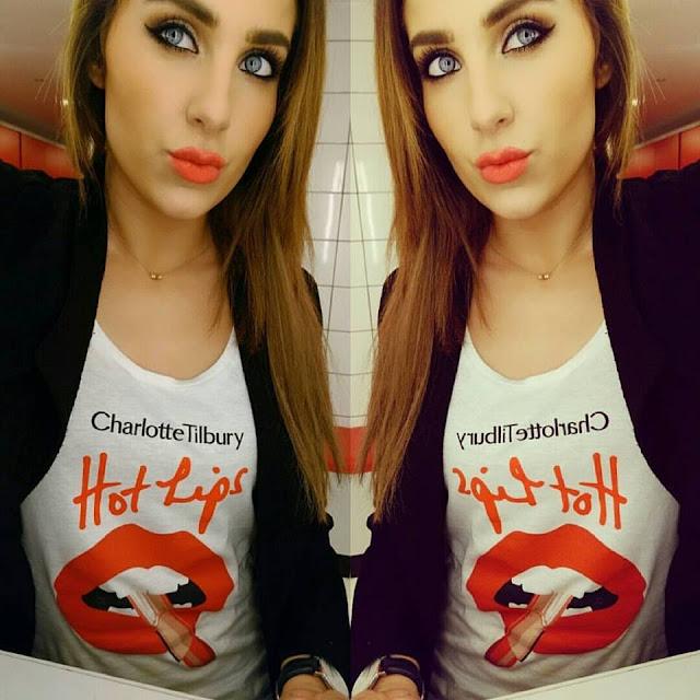 Charlotte Tilbury,Hot LIps, Emily Ratajkowski, Makeup, Lipstick