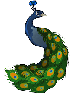 Illustrate a Peacock Inkscape Tutorial