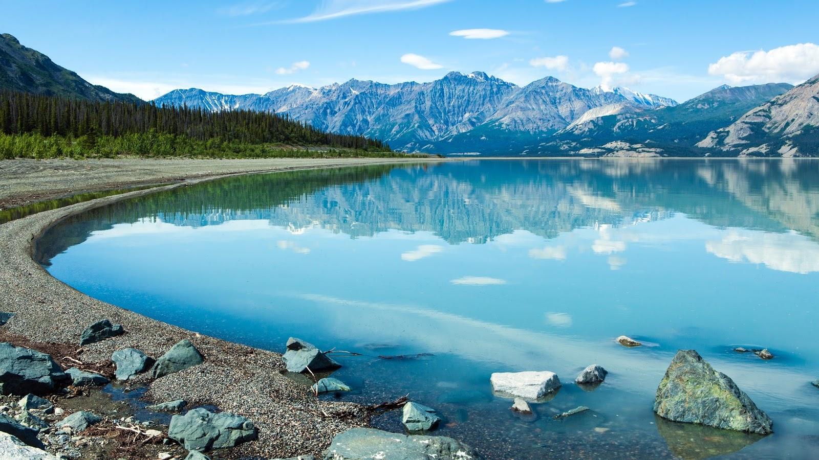 Kluane Lake Canada 5120 x 2880