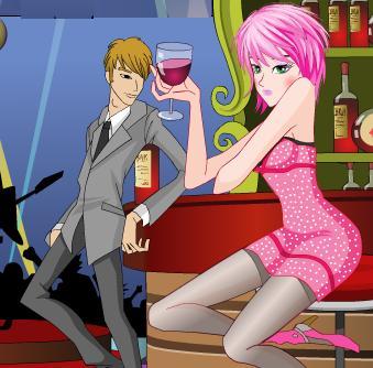 Juego De Vestir Chica En Un Bar Vestir Chicas Y Famosas