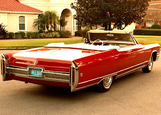 1966 Cadillac Eldorado Coupe Convertible Rear Right