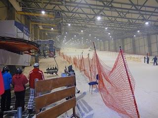 Крытый горнолыжный комплекс в Друскининкай: Подъемник