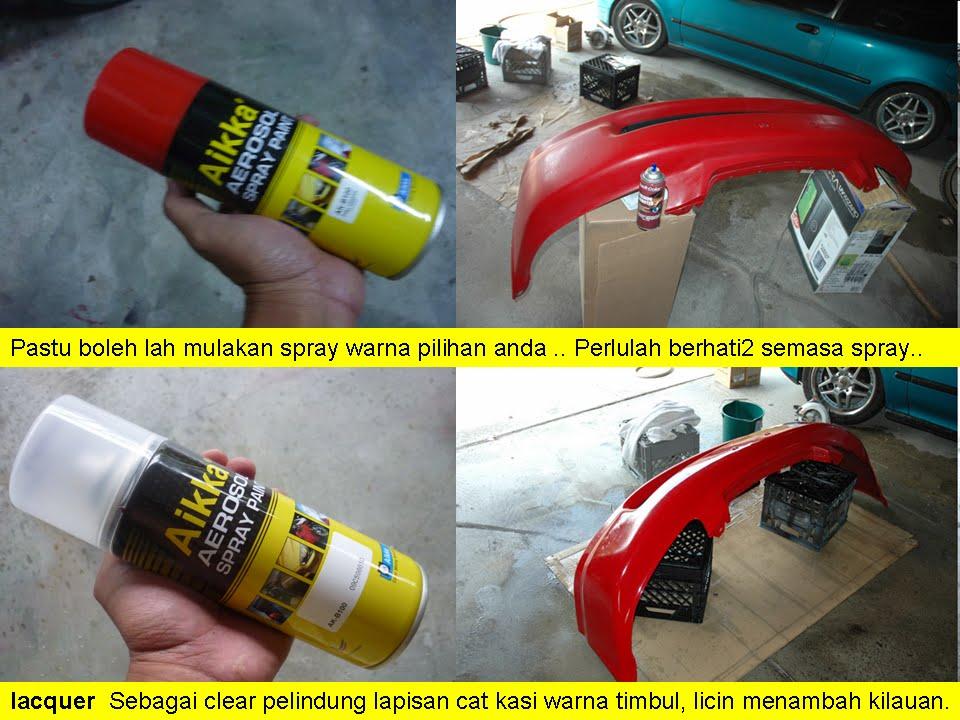 4 Pastu Spray Colour Yang Di Inginkan Kat Sini Digunakan Warna Merah Brand Aikka Paint Aku Dapatkan Kedai Bancuh Cat Untuk Samakan Ngan