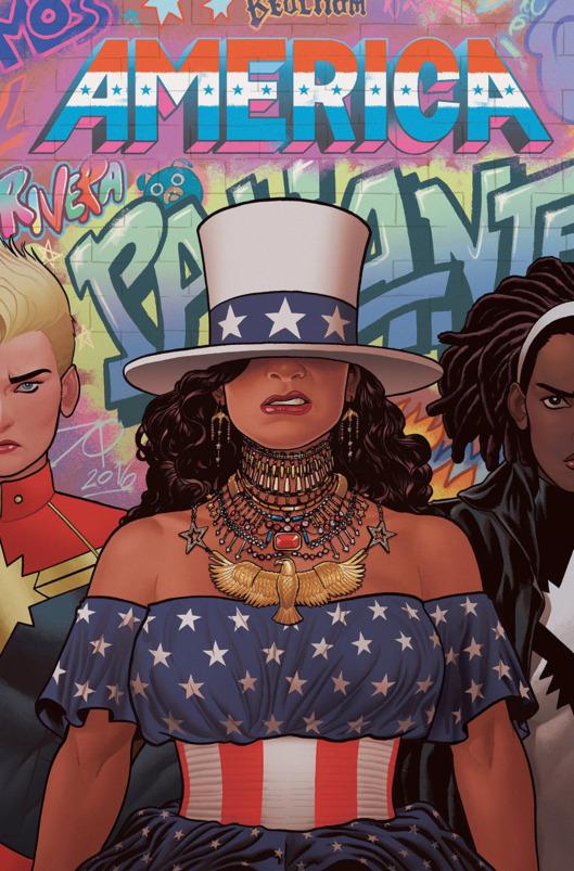 Marvel se inspira em Beyonce para America #2