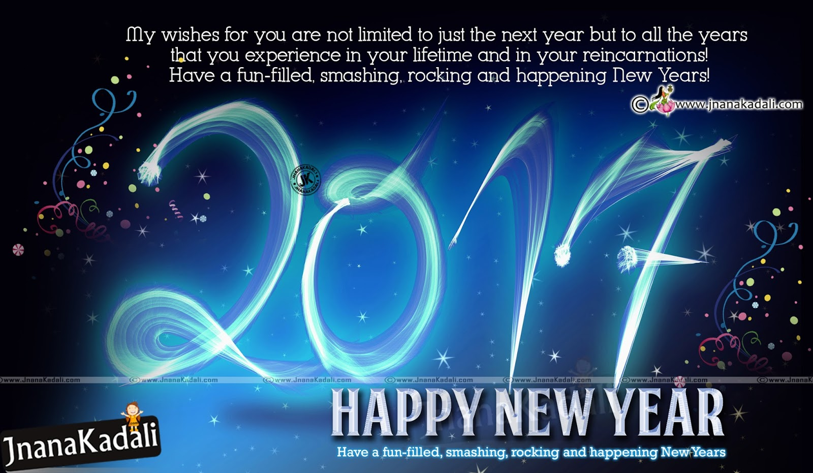 English best New Year 2017 Greetings with hd Wallpapers ...
