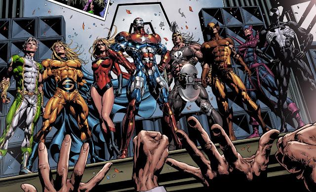 Vengadores Oscuros en el cómic
