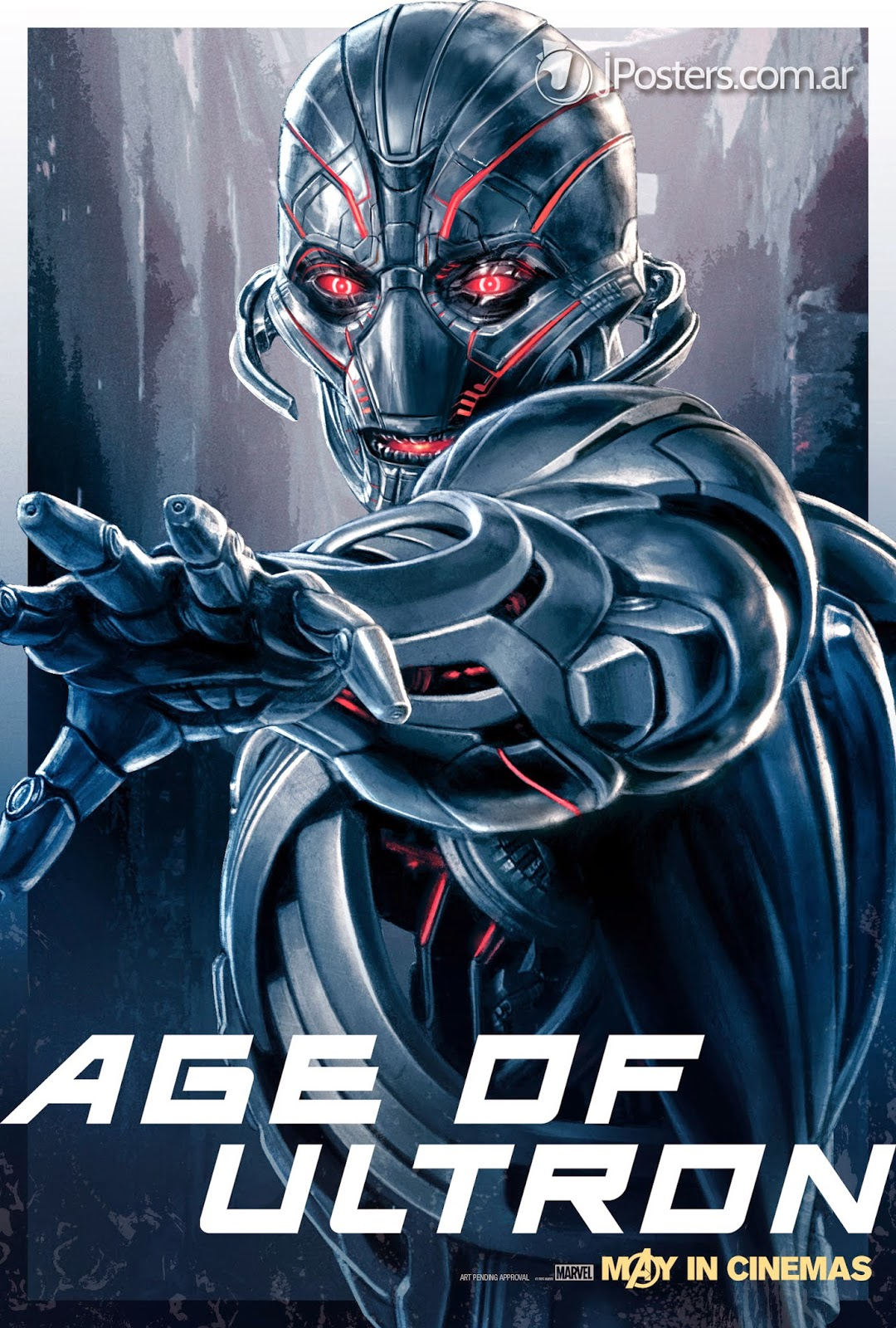 New AVENGERS: AGE OF ULTRON Character Promo Posters Revealed