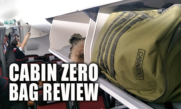 Travel Bag Review Cabin Zero