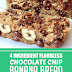 4 Ingredient Flourless Chocolate Chip Banana Bread #bananabread #chocolatechip