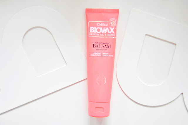 balsam l'biotica biovax mango olej z opuncji