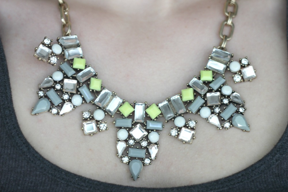 Happiness Boutique Be Beautiful Statement Necklace
