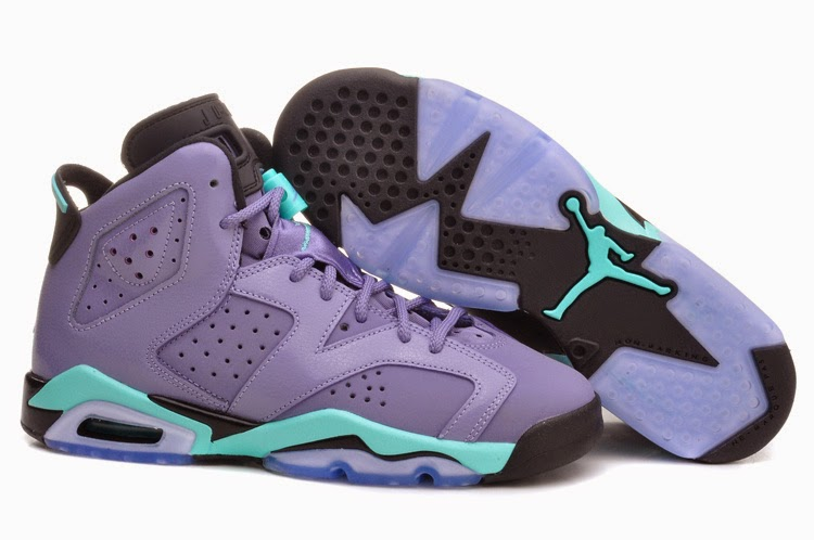 "24b07d2a6fa8 Nike Sneaker View  Air Jordan 6 GG ""Iron Purple"""
