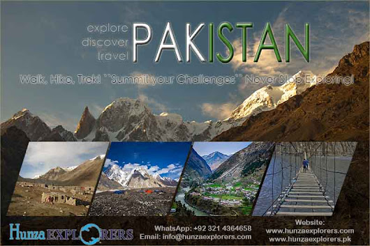Explore Pakistan with us!