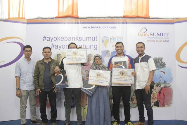Pemenang Lomba Video Storytelling Bank Sumut