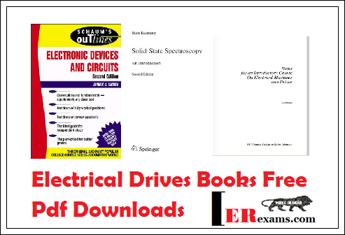 Electrical Drives Books Free Pdf Downloads