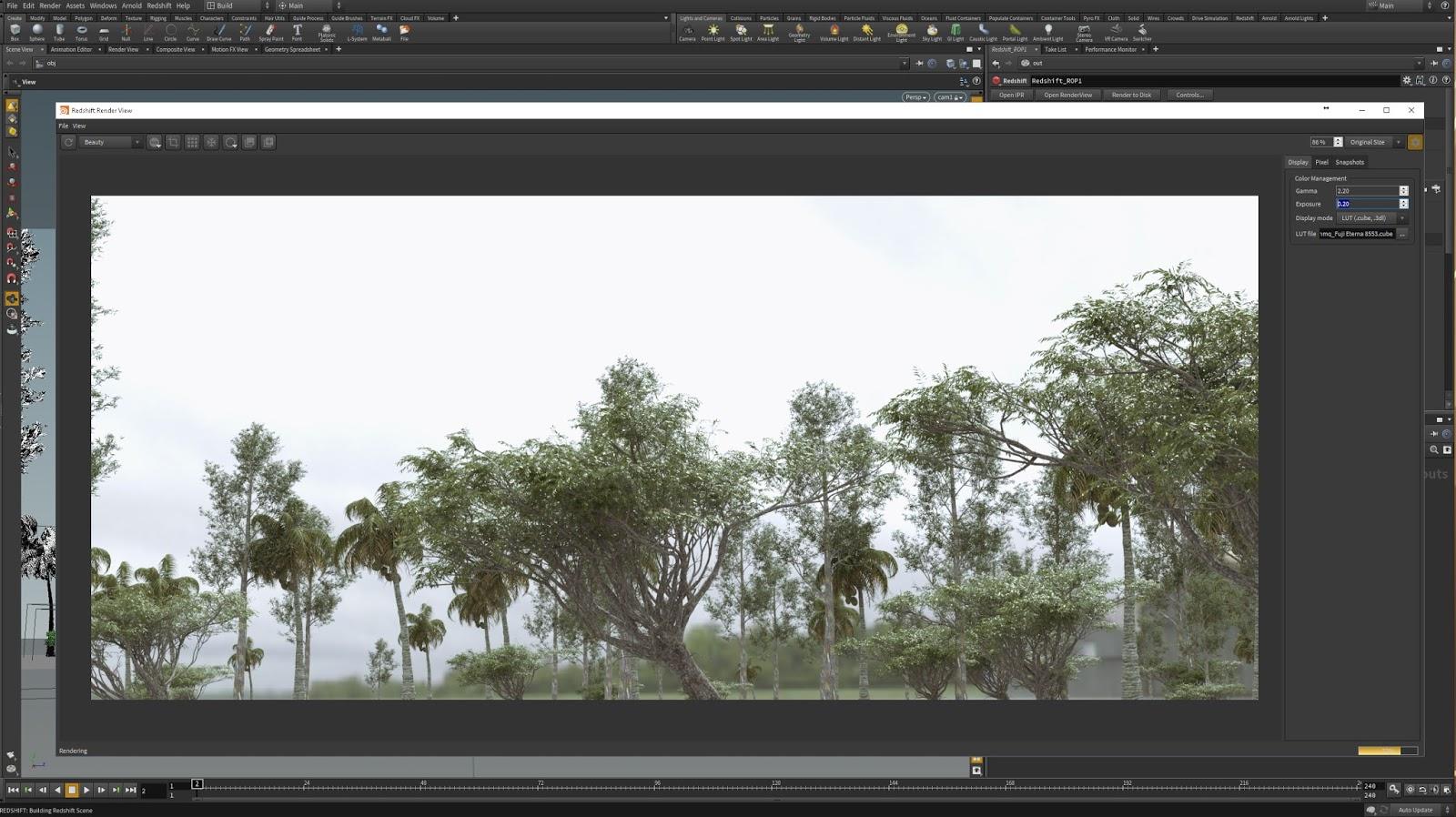 Redshift 2 5 33 Releases Maya + Houdini Custom Frame Buffer