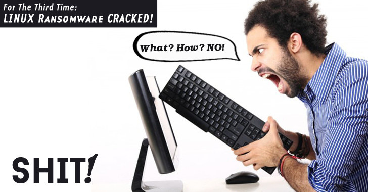 EPIC Fail — For the Third Time, Linux Ransomware CRACKED!