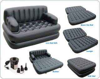 One Intex Pull Out Sofa Air Bed In Pakistan