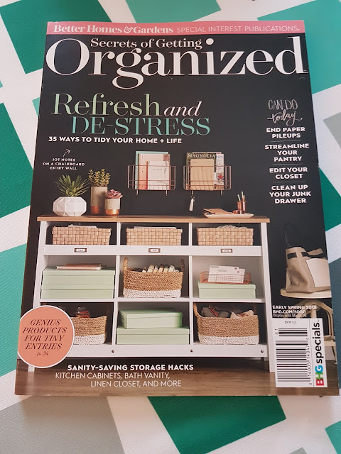 getting organized magazine BH&G