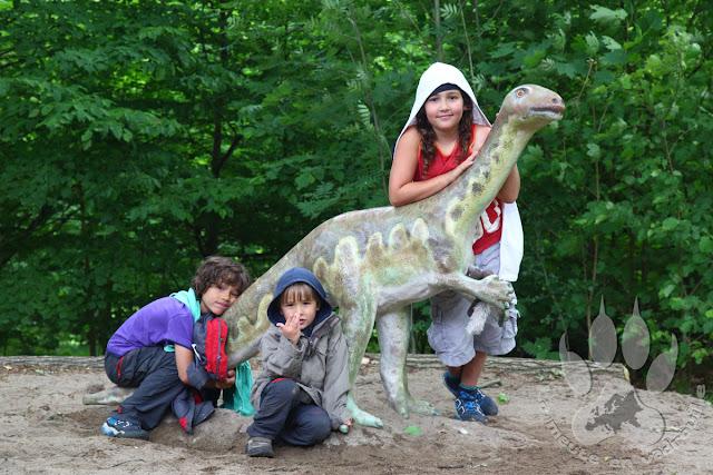 Suede-Scanie-parc-national-soderasens-louveteaux-dinosaure
