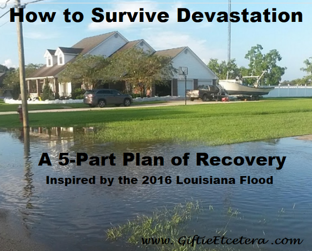 Louisiana Flood, Louisiana Flood 2016, survival, planner, plan for survival
