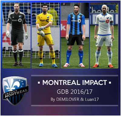 PES 2013 GDB Montreal Impact 201617 by DEMILOVER