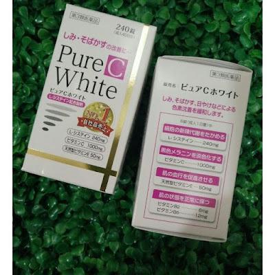 Hướng dẫn sử dụng viên uống pure white c Nhật Bản
