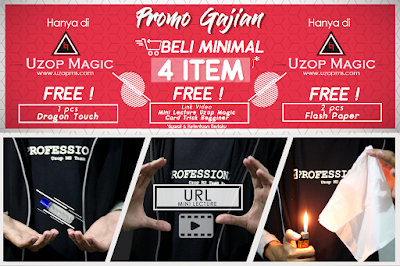 Uzop Magic promo beli 4 gratis 3 item