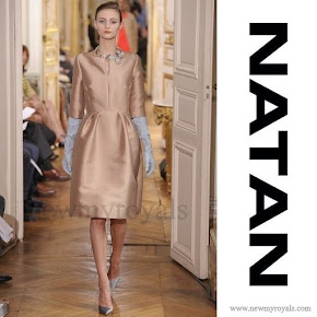 Queen Maxima style NATAN Dress Natan by Edouard Vermeulen Couture