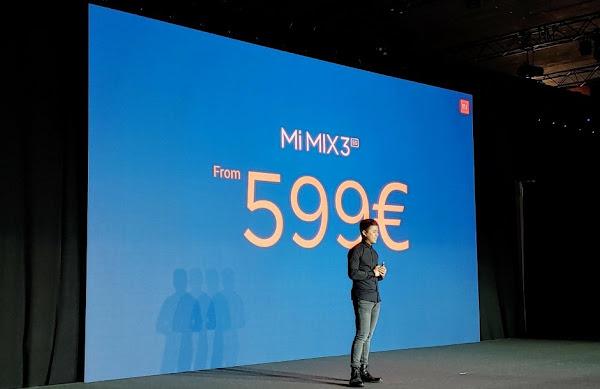 Xiaomi Mi Mix 3 5G - Price