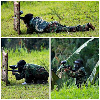 outbound bogor, outbound puncak, paint ball,