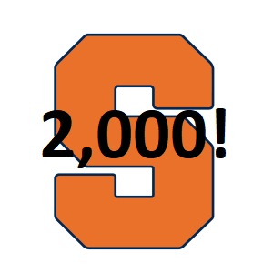 Syracuse Orange 2000 Victories