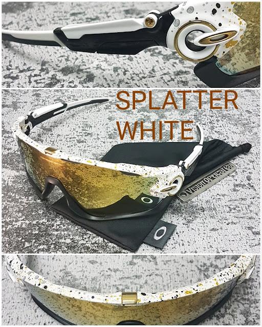 OO9290 JAWBREAKER   SPLATTER WHITE