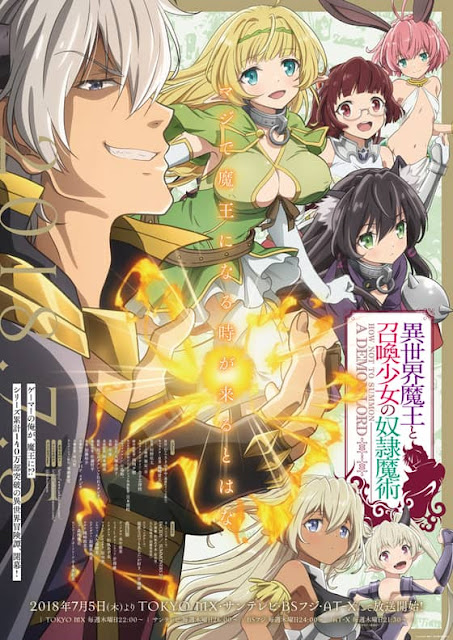 How NOT to Summon a Demon Lord- Key Visual