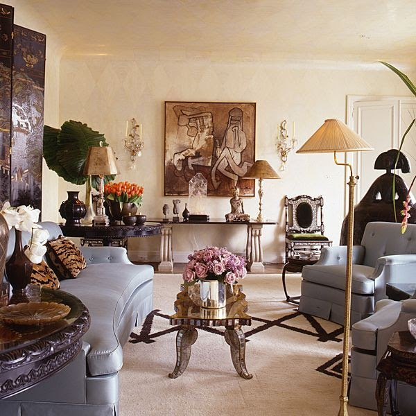 Image 2197 From Post Organizing Your Interior Decorating: LUSTER INTERIORS: King Eclectic