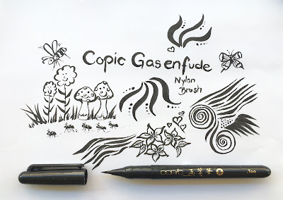 Neuheit: Copic Gasenfude Nylon Brush