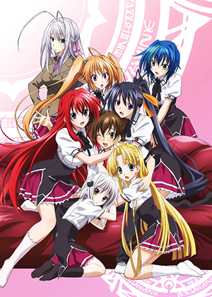 High School DxD BorN [12/12] [HD] [MEGA]
