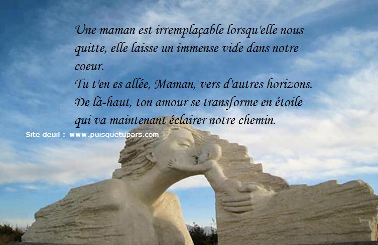 Souvent Espace Deuil Réconfort: Panneau de condoléances pour le décès d  XN56