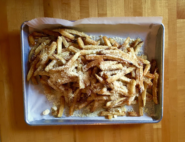 Parmesan Duck Fat Fries, need we say more?