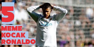 Drama el clasico adalah drama yang paling ditunggu para pecinta sepak bola khususnya untu 5 Meme Kocak Ronaldo di El Clasico Buatan Netizen