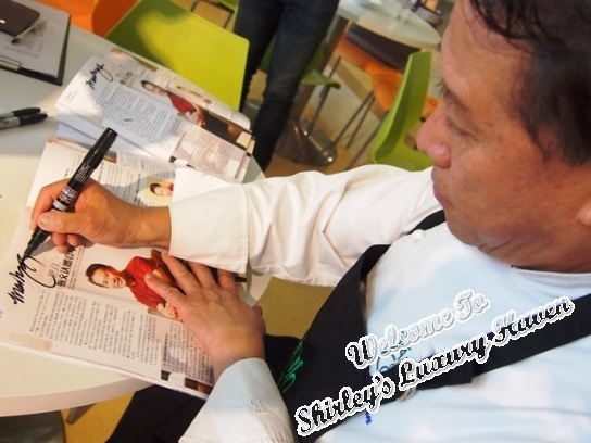 afc cooking studio martin yan autograph