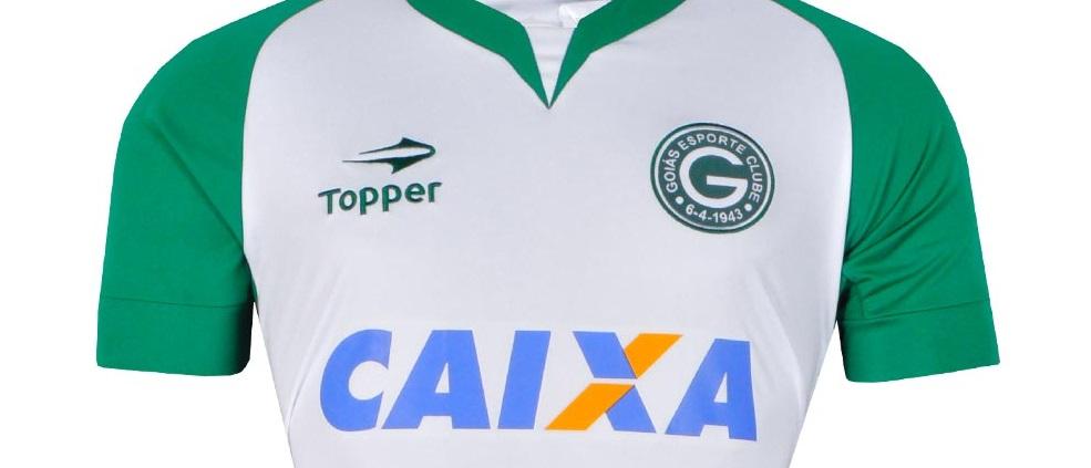 """715f79afab Goiás Esporte Clube e a Caixa Econômica Federal anunciaram a renovação do  patrocínio para a temporada. Classificado como """"o maior acordo da história  do ..."""